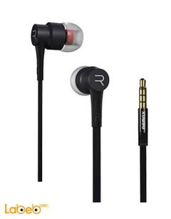 Remax Headphone - with microphone - Black color - RM-535 model
