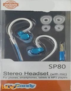 My candy stereo Headset - Microphone - blue color - SP80