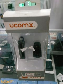 ucomx bluetooth car kit headset - bluetooth 4.0 - black color