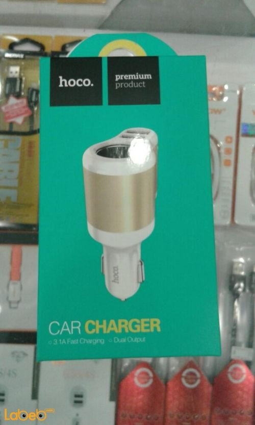 Hoco car charger UC206 model