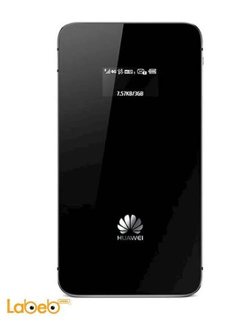 black Huawei mobile wifi 1900mAh