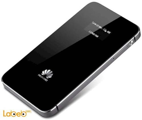 جانب راوتر هواوي واي فاي 4G سعة 1900mAh اسود E5578s-932