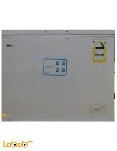 Ugine chest freezer 350L White color UGCFV316L model
