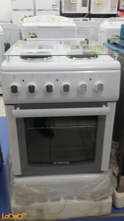 Starway electric oven 4 burners White color FW5043GXZW