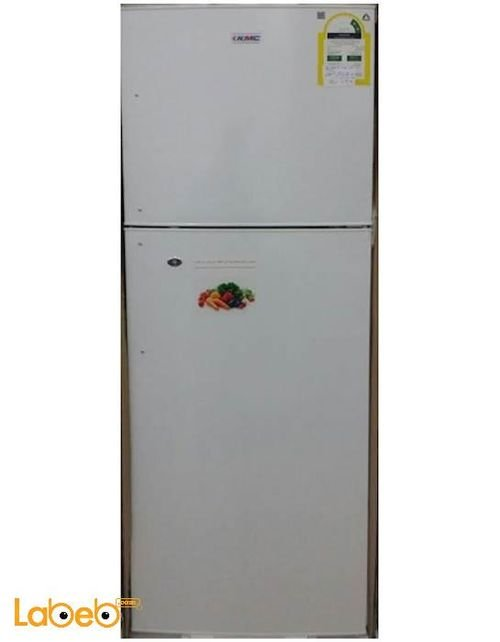 KMC Refrigerator top freezer 340.40L Whie KMF-350H model