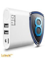 Wopow Power Bank 10000mAh 2 USB ports White P10 model