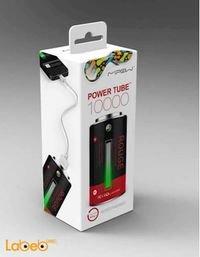 علبة بطارية محمولة Mipow سعة 10400mAh منفذين USB أسود وأحمر