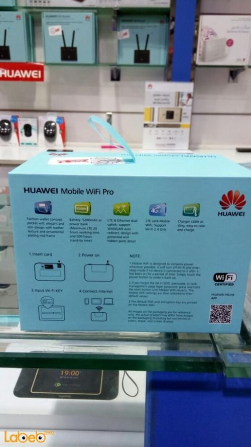 Huawei mobile wifi pro E5770S-923 specifications