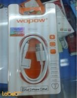 Wopow Lightning to USB cable for ipod, iPhone, ipad 1m LC505