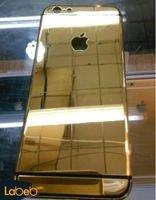 غطاء خلفي للموبايل مناسب لايفون 6 لون ذهبي