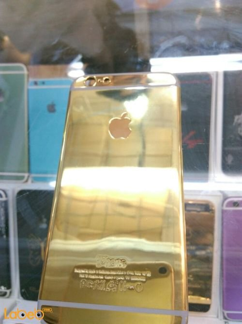 Gold Mobile back cover suitable for iPhone 6