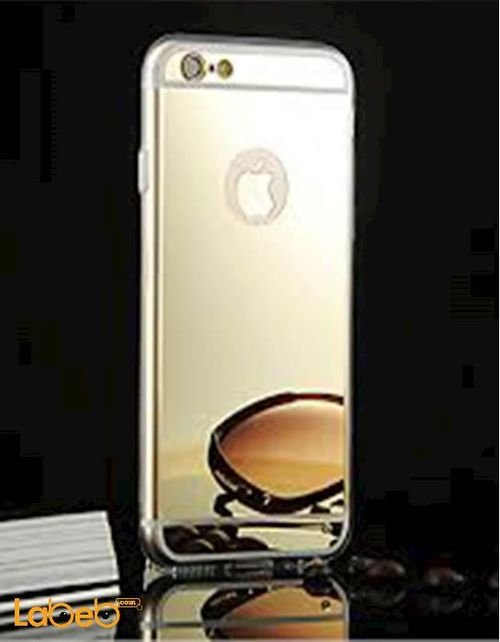Mobile back cover suitable for iPhone 6 Gold color