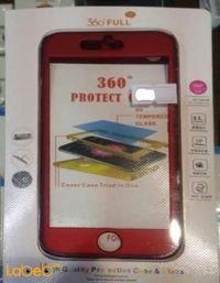 غطاء مطاطي للموبايل مناسب لموبايل ايفون 7 لون احمر