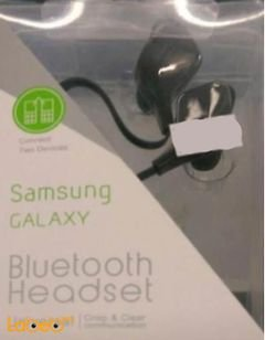 Samsung Galaxy Bluetooth Headset - dual phone connection - black