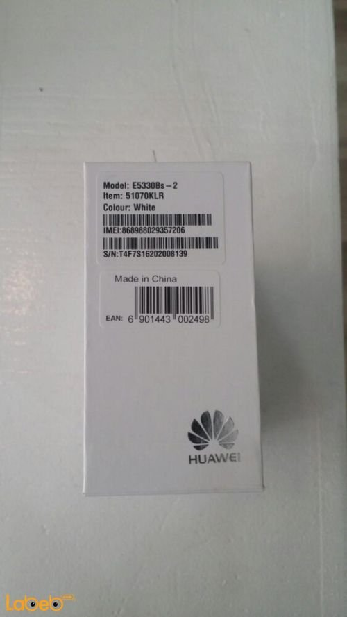 Huawei mobile wifi, 3G, 1500mAh, White, E5330Bs-2 model