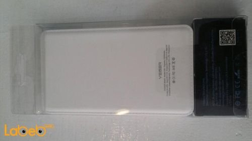 Veger power bank V50 model 12000mAh White color