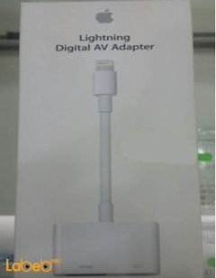 Apple Lightning digital AV Adapter - White - MD826AM/A model