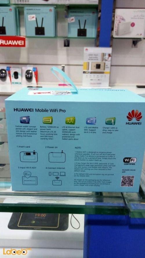 Huawei mobile wifi pro 4G 5200mAh  E5770S-923