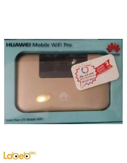 Huawei mobile wifi pro 4G 5200mAh Gold E5770S-923