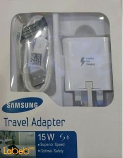 Samsung travel adapter - for galaxy S6 - 15 Watt - White color