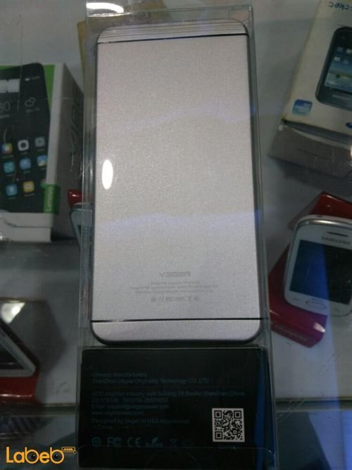 Silver Veger power bank V55 10000mAh