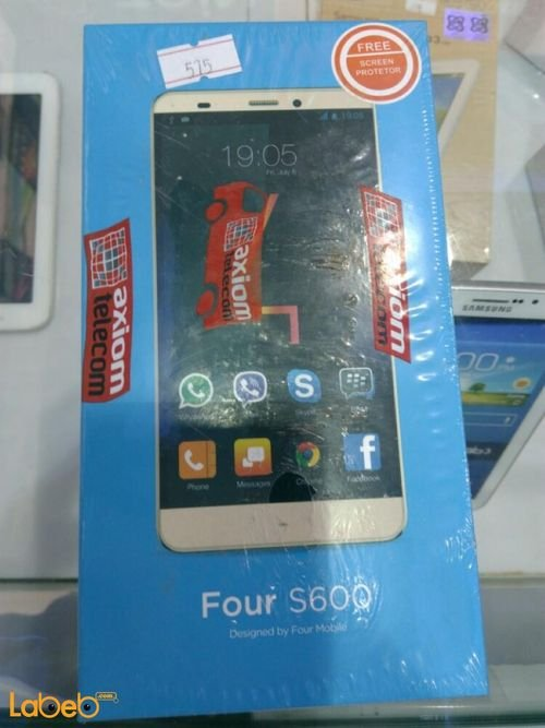 Four mobile S600 16GB Gold S600 model