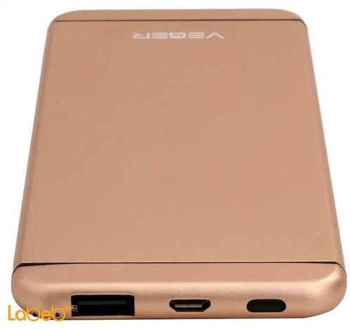 Veger power bank 10000mAh Gold color V55 model