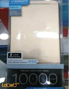Veger power bank - 10000mAh - Gold color - V55 model