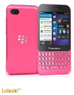 BlackBerry Q5 smartphone - 8GB - Pink color - FRS121LW