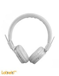 Color Fashion Stereo Headphone Headset - White - TV02 model