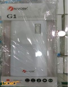 Nyork Power bank - 14000mAh - White color - G1 model