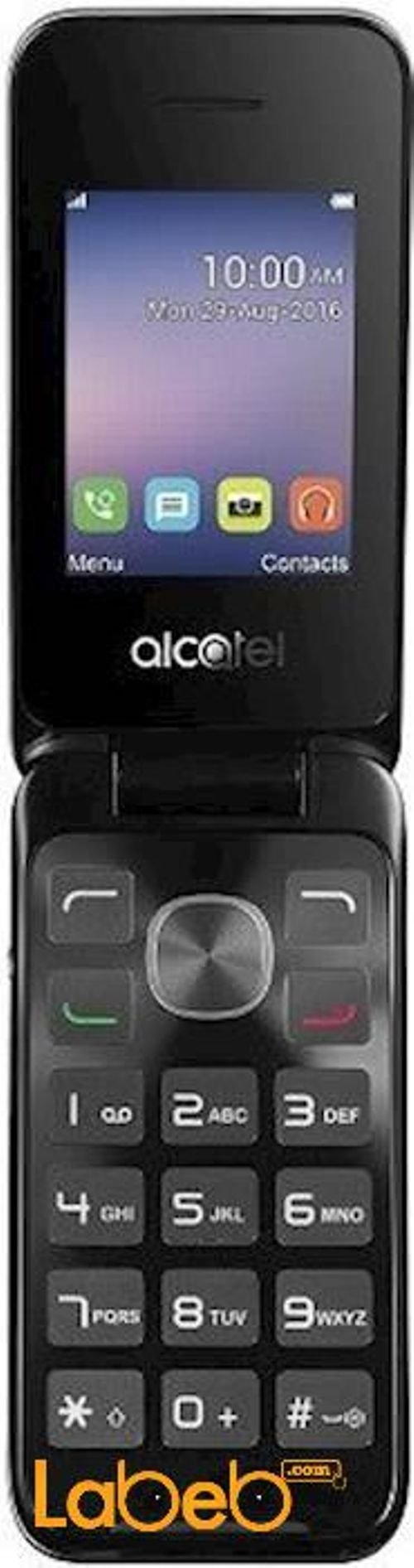 Alcatel 2051D mobile 8GB 2.4inch Silver color