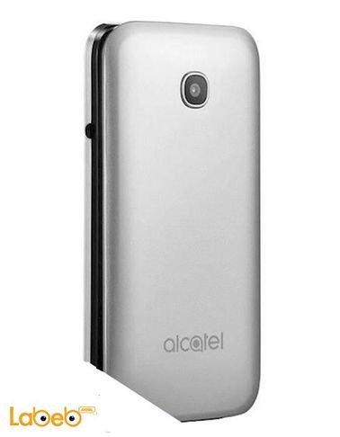 موبايل الكاتيل 2051D - ذاكرة 8 جيجابايت - 2.4 انش - لون فضي