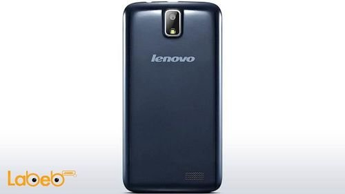 Black Lenovo A328 smartphone back