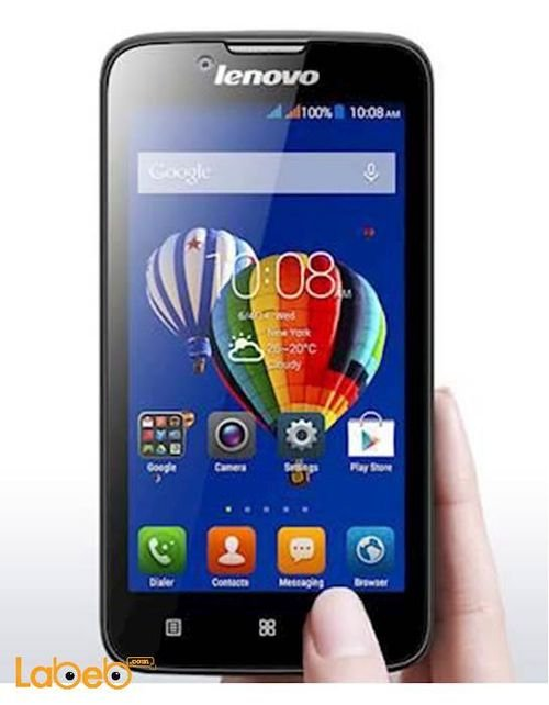 Lenovo A328 smartphone 4GB 4.5inch Black color