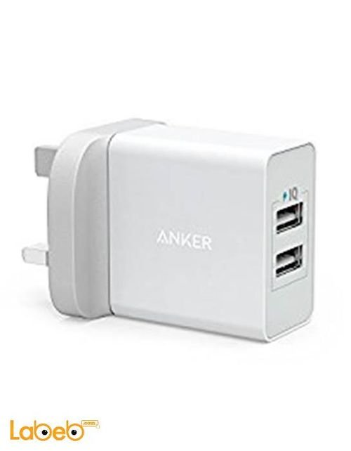 Anker Wall Charger A2021221 24W 2 Port USB White