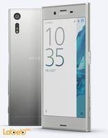 Platinum color Sony xperia XZ smartphone 64GB 5.2 inch