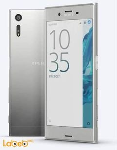 Sony xperia XZ smartphone - 64GB - 5.2 inch - Platinum color
