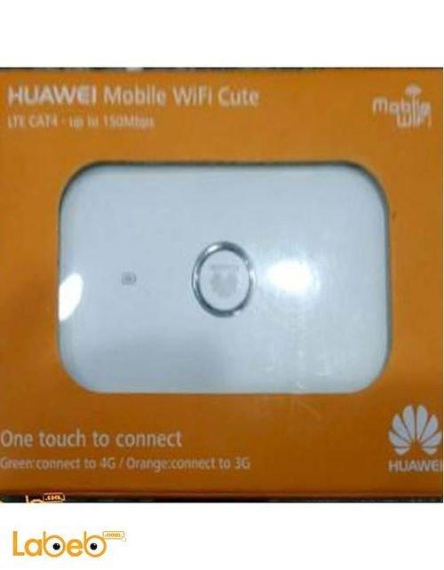 راوتر هواوي واي فاي 4G سعة 1500mAh أبيض E5573s-856