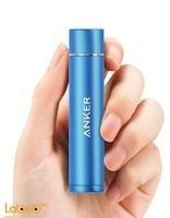 blue Anker PowerCore mini charger 3200mAh -