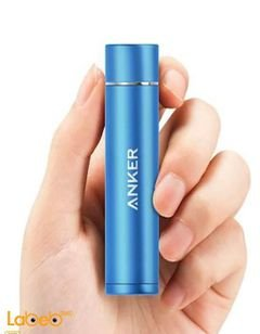 Anker PowerCore mini charger - phones & tablets - 3200mAh - blue