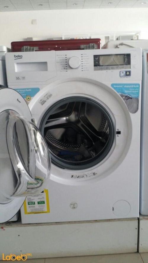 White Beko Washer & Dryer Condenser WMY101440LB1 10Kg