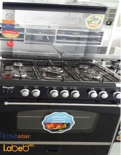 Sky star oven - 5 burners - 60x90cm - Black - C6090EB-DC-511-S