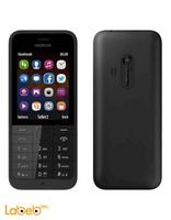Nokia 230 Dual SIM mobile 2.8 inch 2MP Black color