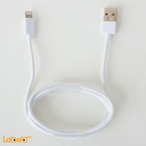 MiLi 8 Pin Lightning USB cable 1m White color HI-L80 model