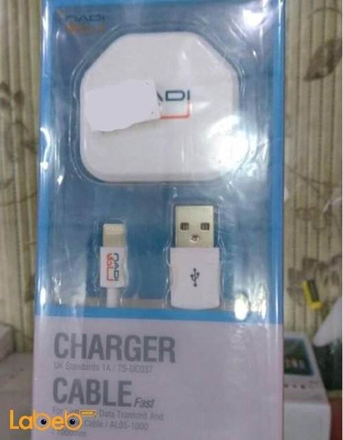 Nadi charger for samrt devices White TS-UC037 model