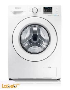 Samsung Front Load Washing Machine - 8KG - White - WF80F5E0W2W