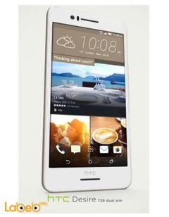 HTC Desire 728 smartphone - 32GB - 5.5 inch - white color