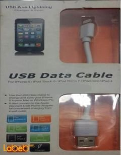 USB Data cable - iPhone / iPad / iPod - White - LD01U-16P model