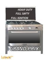 Romo international grand prix Oven 5 Burners Stainless Steel